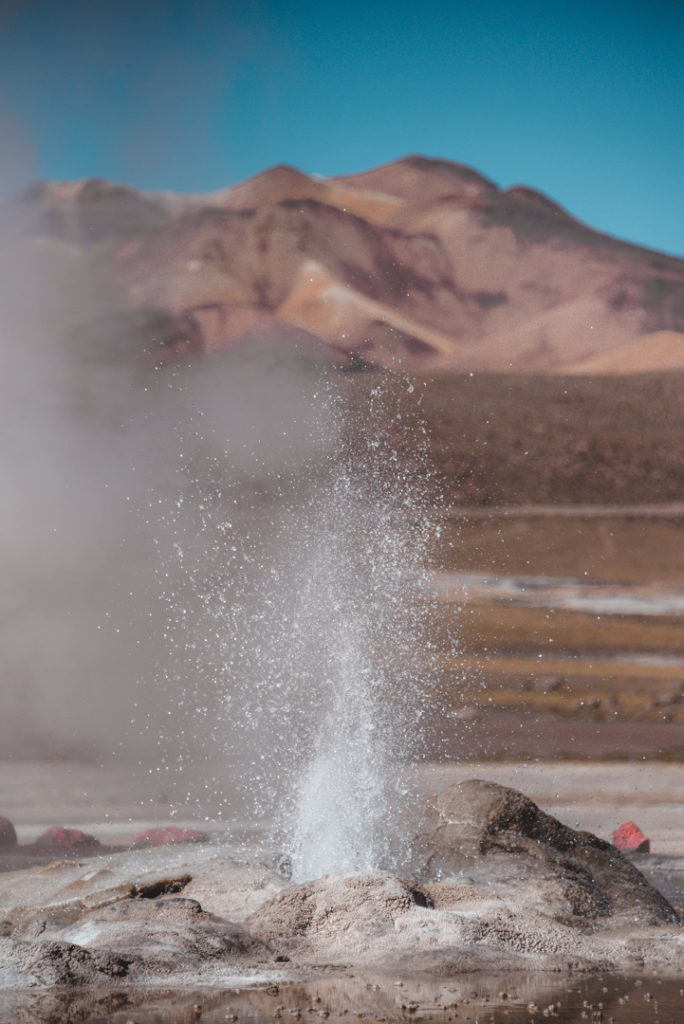 visiting tour of geyser del tatio chile