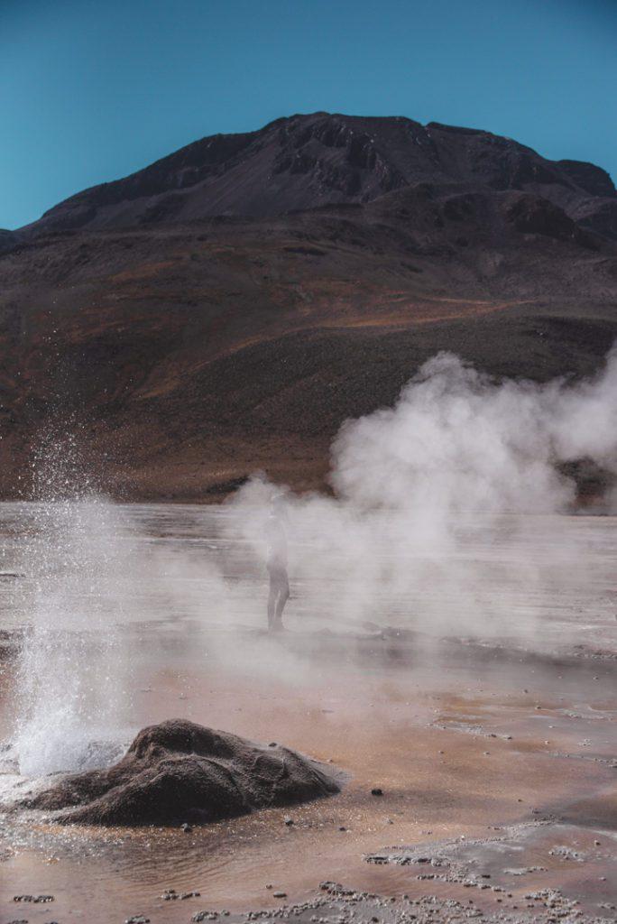 Fuming Geyser del Tatio Chile