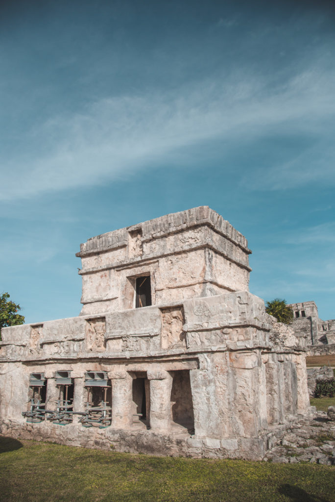 Temple of the Frescos, Tulum Ruins Mexico
