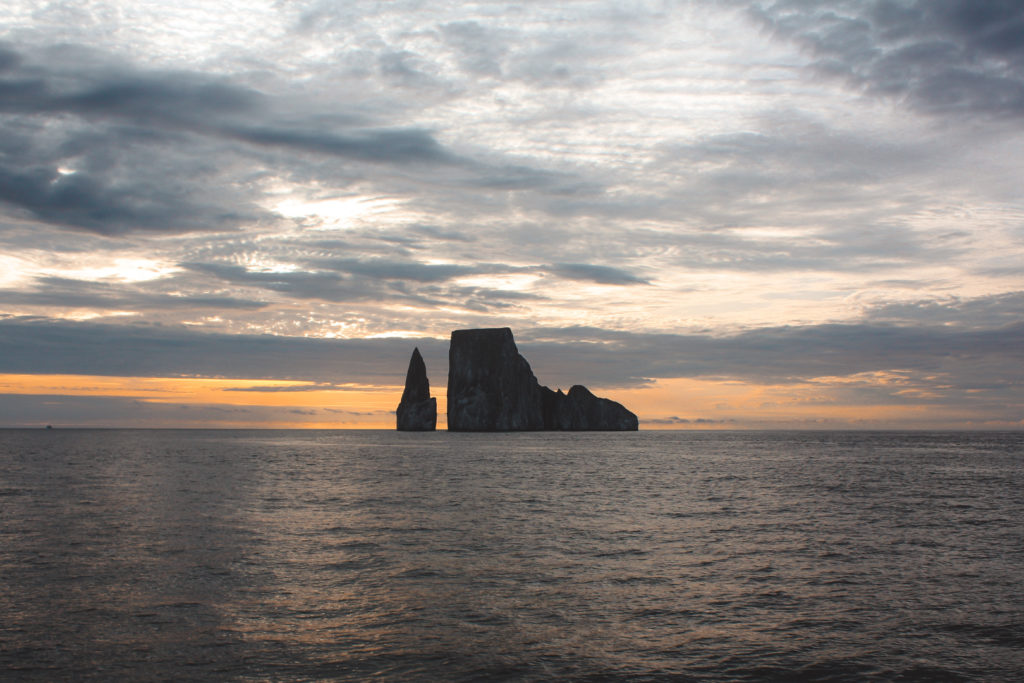 sailing in the Galapagos islands