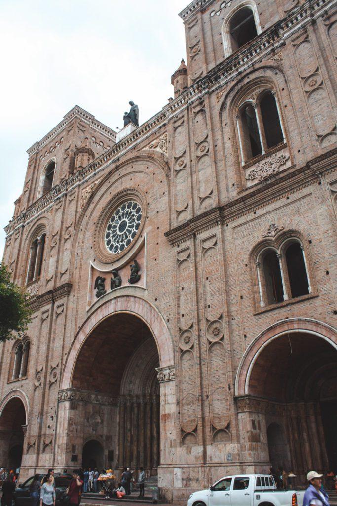 Main Cathedral of Cuenca Ecuador