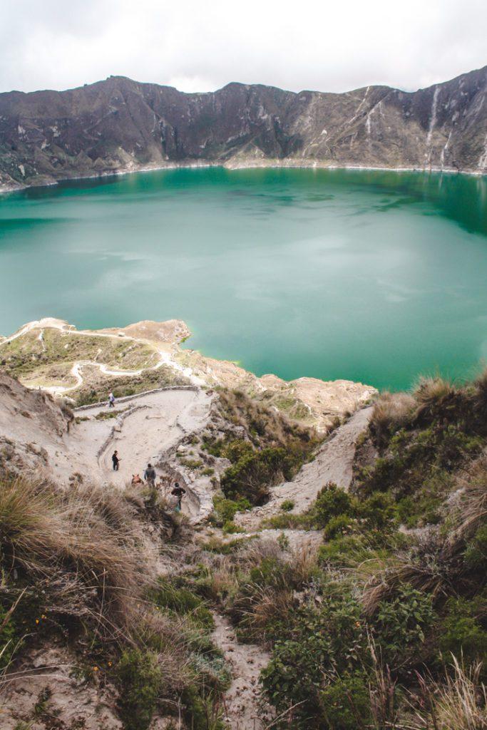 Quilotoa Lake Ecuador