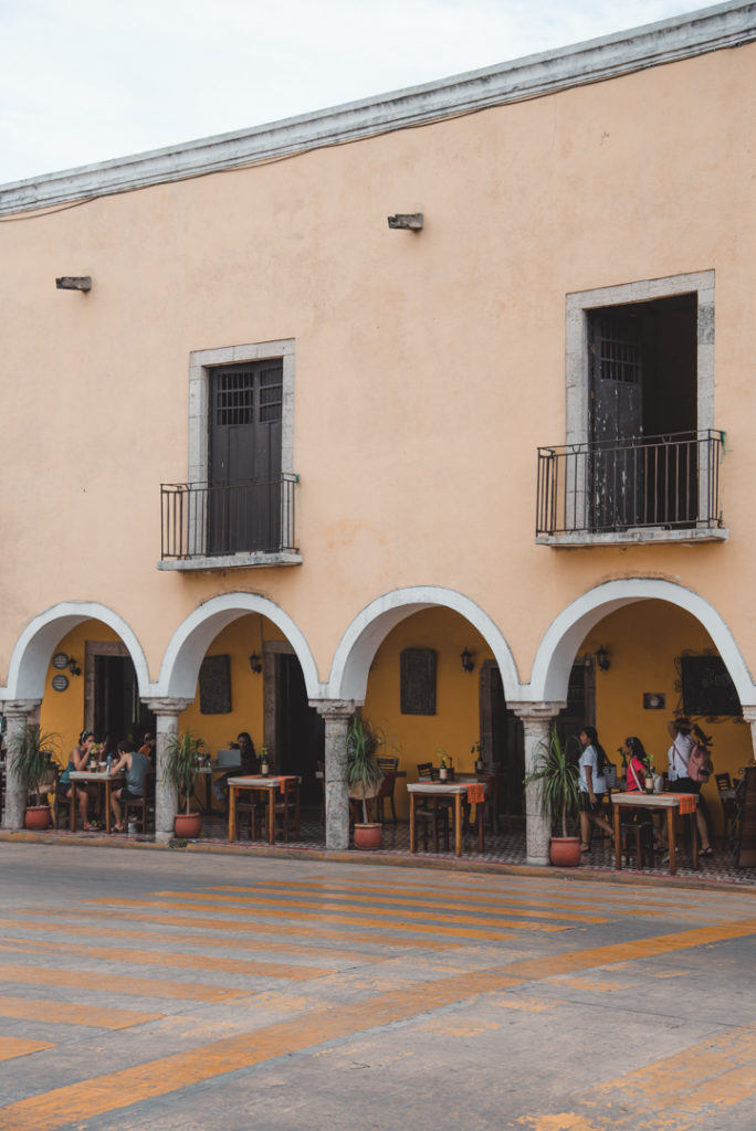 Colonial architecture in Valladolid