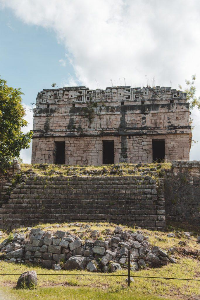 visiting Chichen Itza Mexi