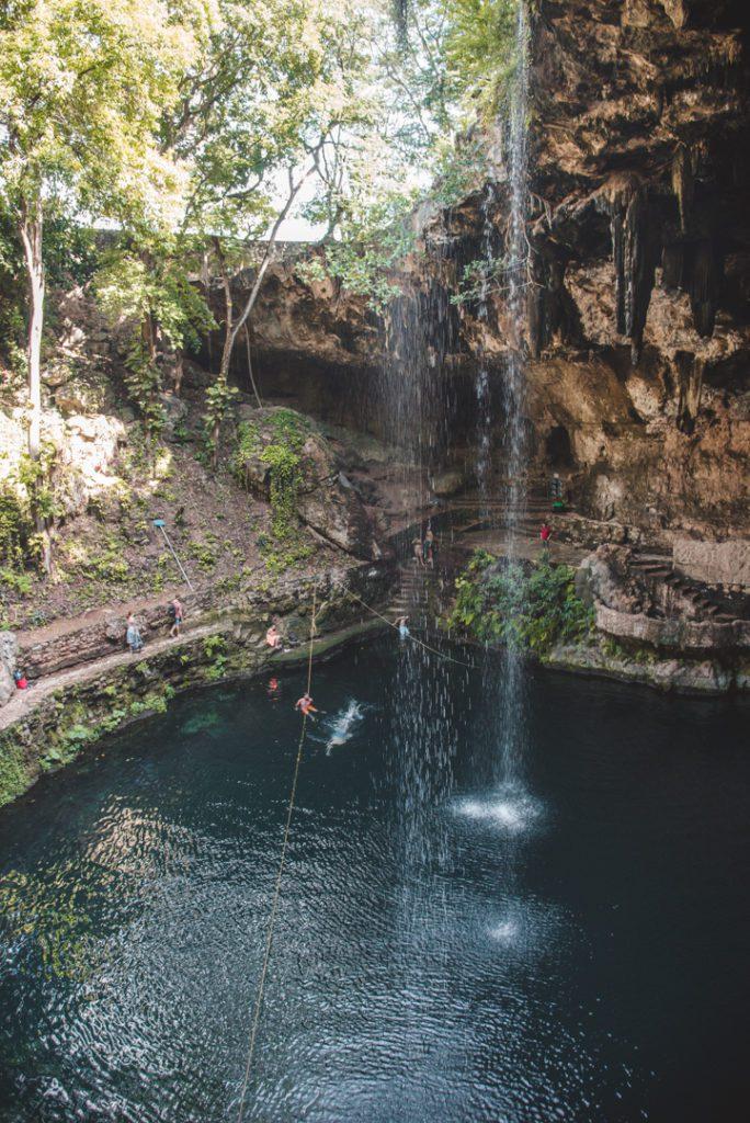 Cenote Zaci, Valladolid
