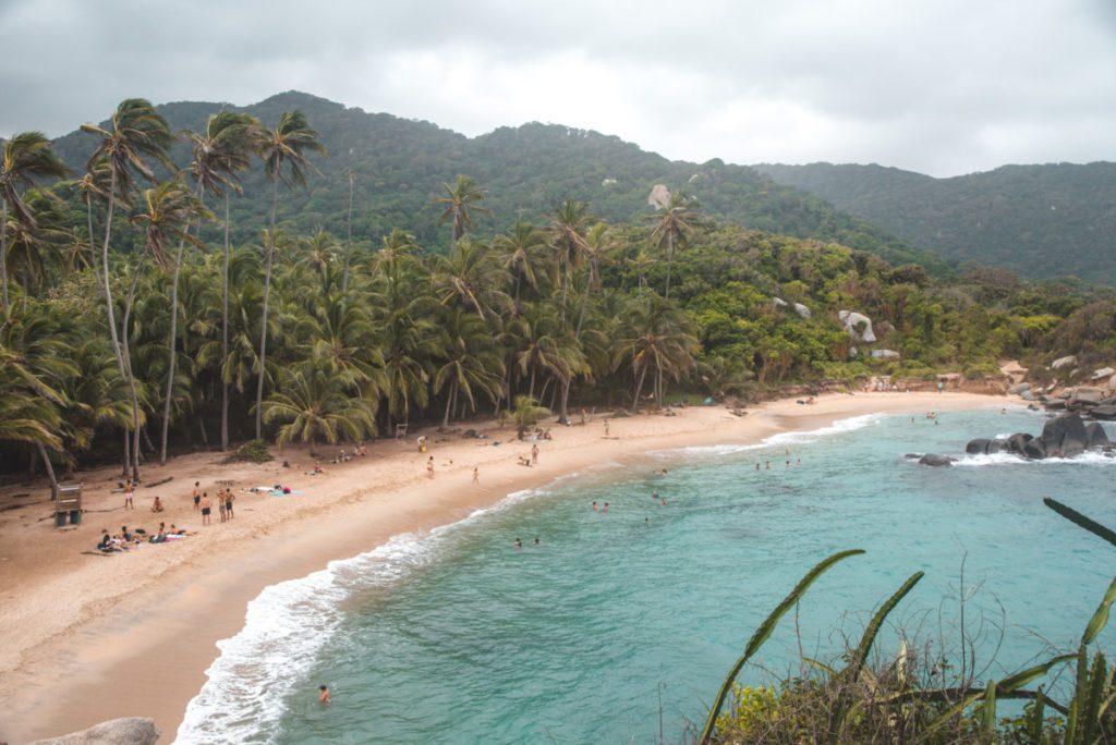 Cabo San Juan Beach in Tayrona National Park