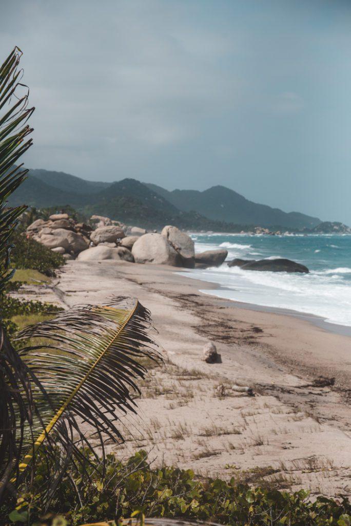 Beach in Parque Nacional Natural tayrona