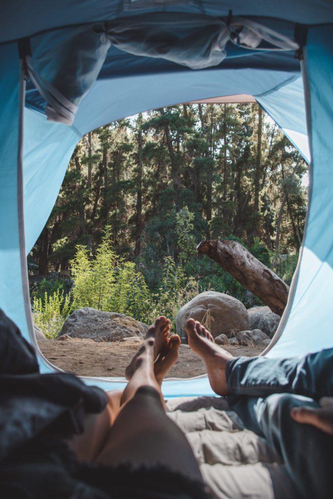Camping in the Siete Tazas