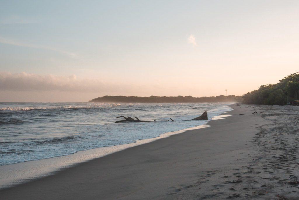 Epic beach sunrise