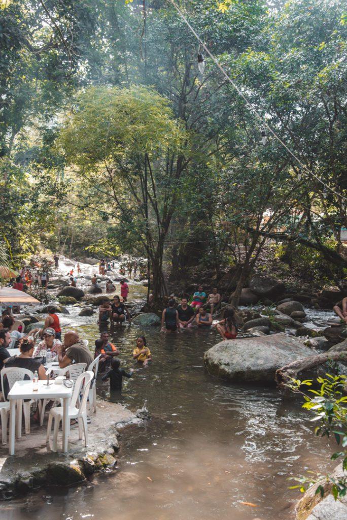 Las Piedras in Minca Colombia
