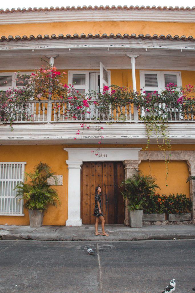 Cartagena Colombia dreamy streets
