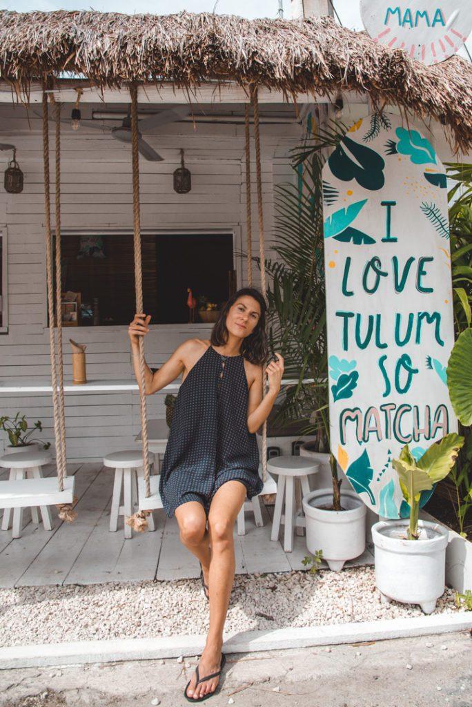 Matcha Mama Tulum- vegan smoothies