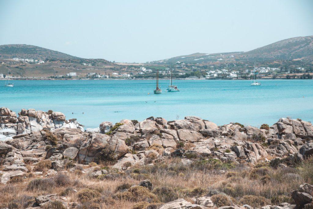 Kolympethres Beach Best beaches in Paros