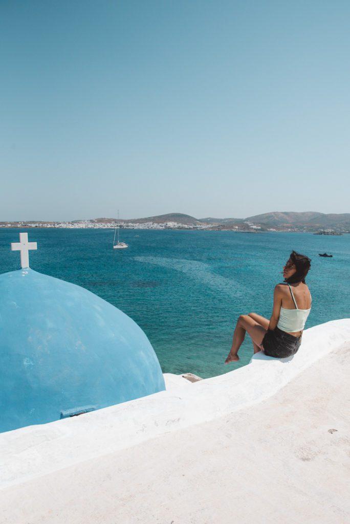 Monastiri church, Paros Greece