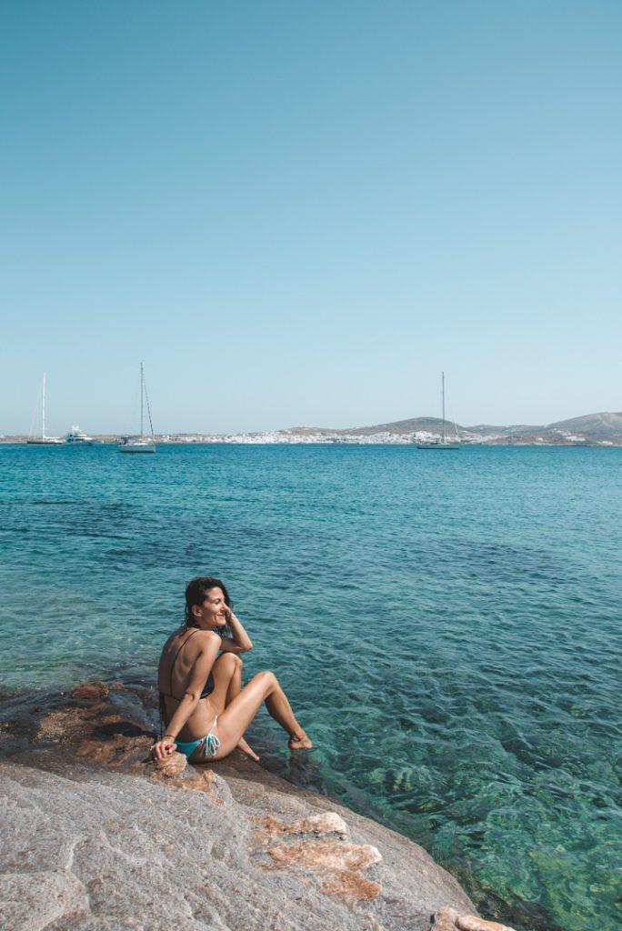 Monastiri beach Paros Greece