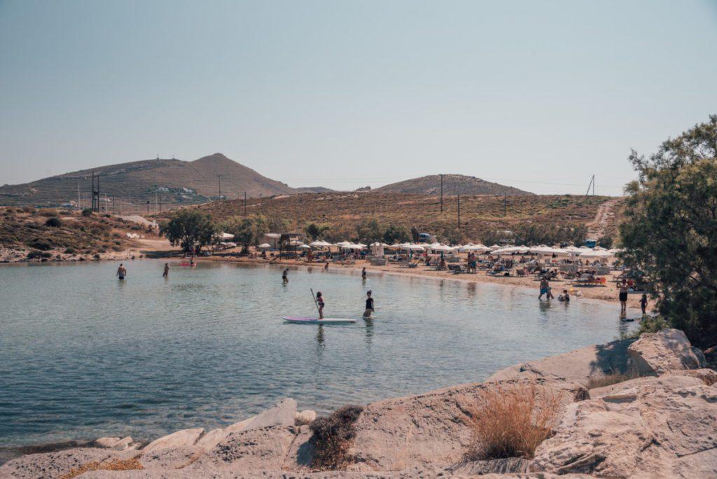 Monastiri beach best beaches in Paros