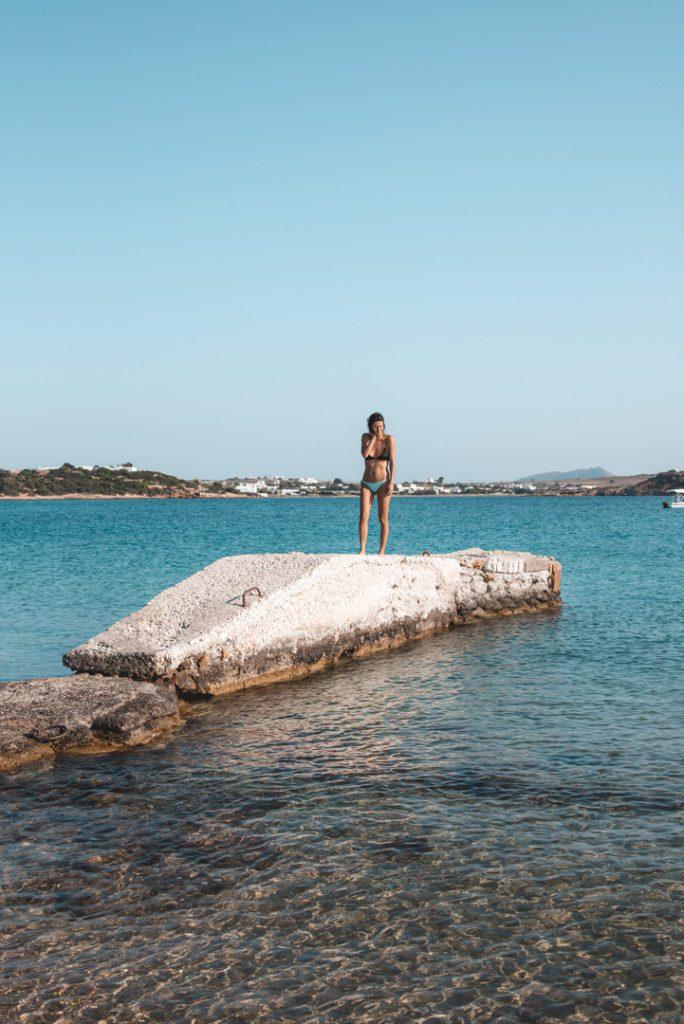 Lageri Beach, Paros island.