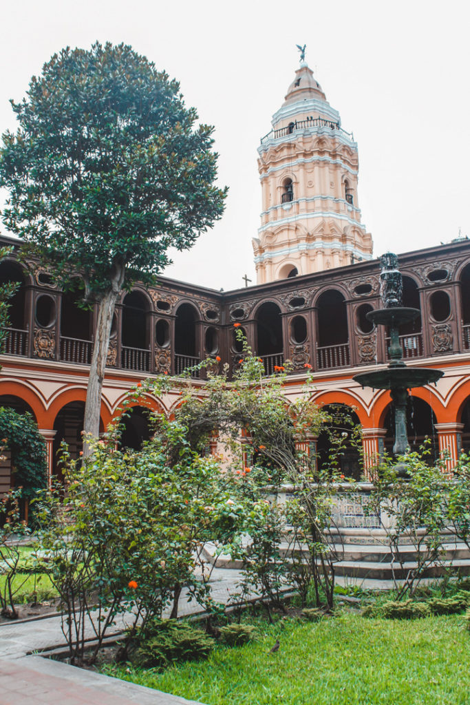 San Francisco Monastery Lima Peru