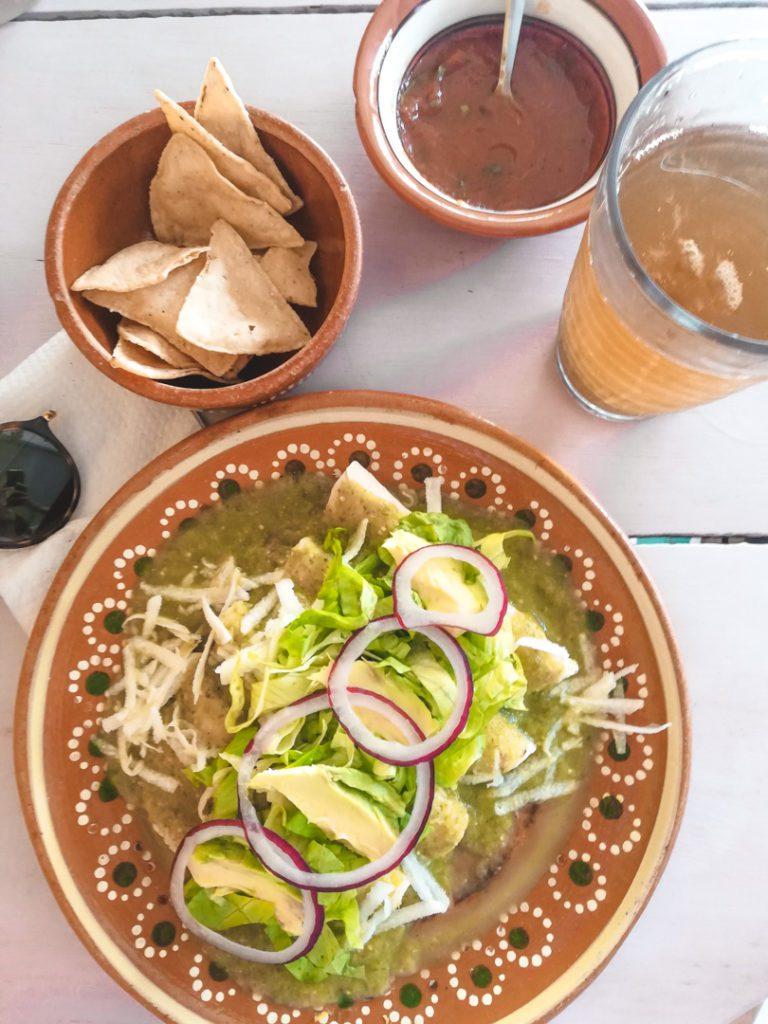 Vegan enchilladas best vegan eats in Tulum