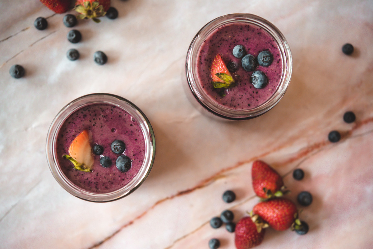 Berry Smoothies, 7 Delicious Drinks to Boost your Immune System