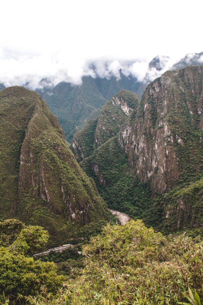 Mountains around Machu Picchu