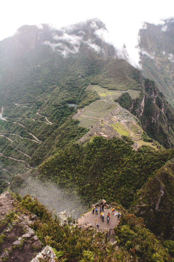 Machu Picchu view from Huanya Picchu