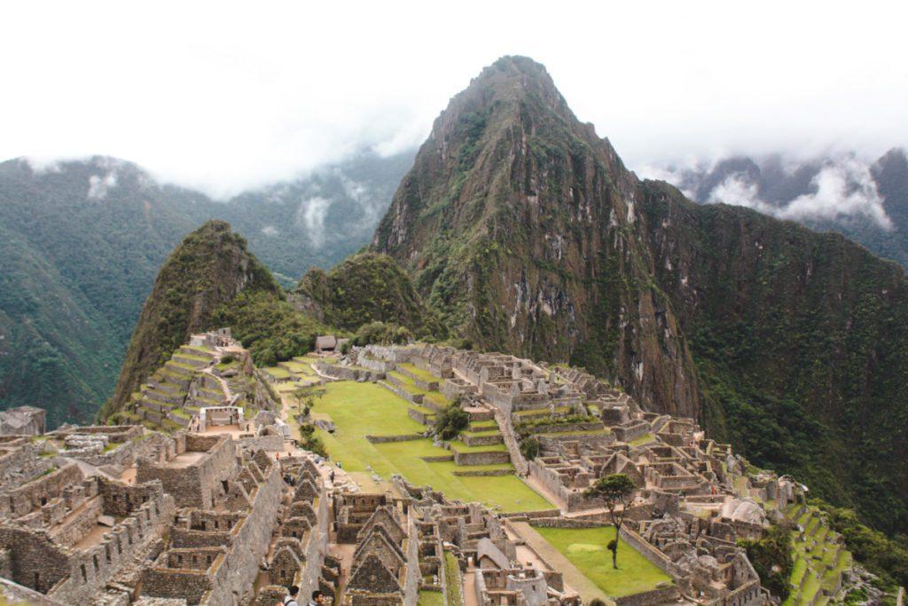 View of Machu Picchu Peru