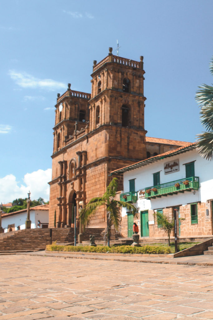 Cathedral in Barichara Colombia
