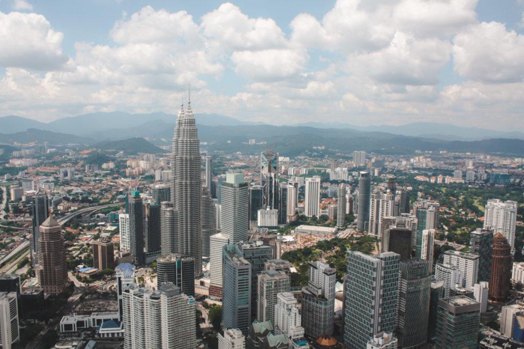 Petronas Towers in Kuala Lumpur 2 day itinerary