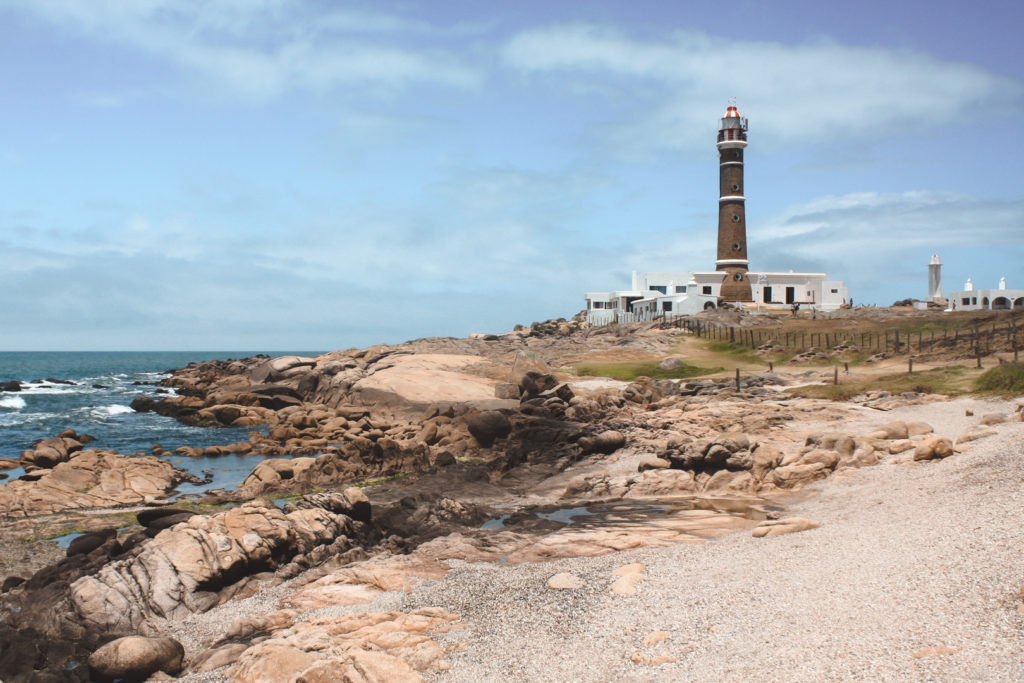 Cabo de Polonia lighthouse, Uruguay