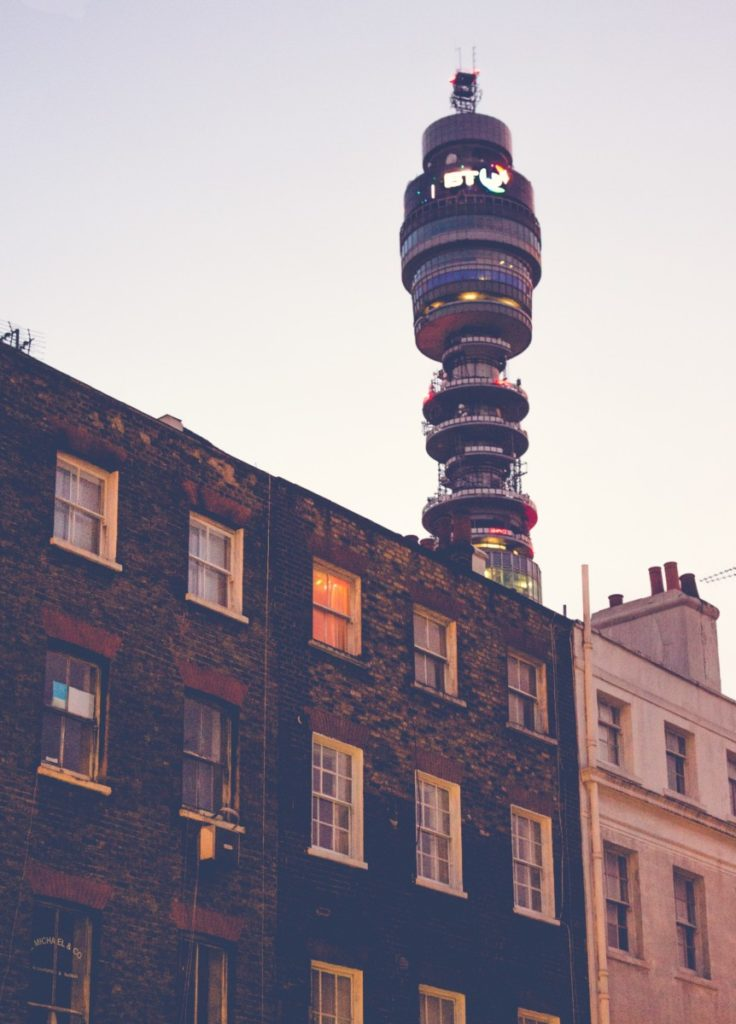 BT Tower architecture London