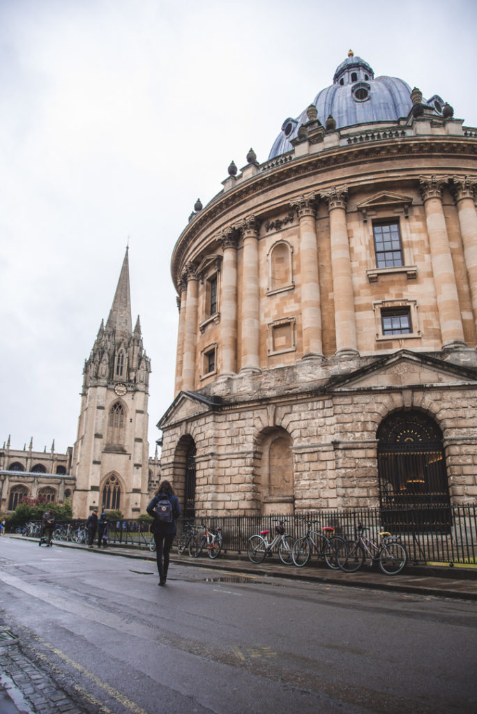 Radcliffe Camer oxford itinerary