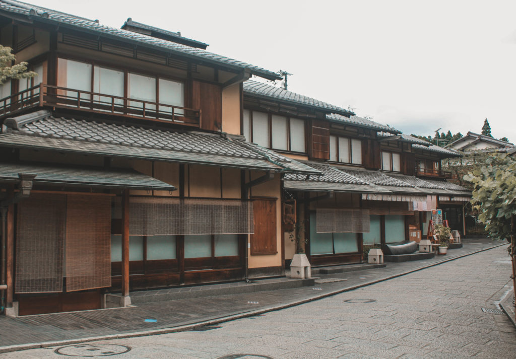 traditional building in Kyoto