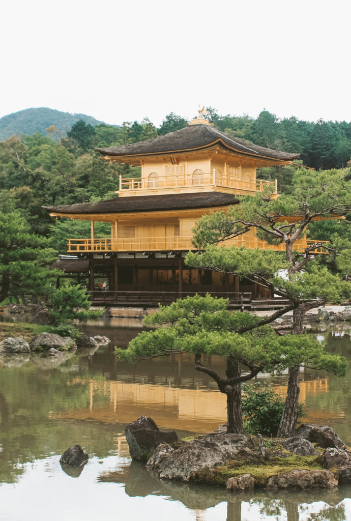 Temple of the Golden Pavilion Kyoto