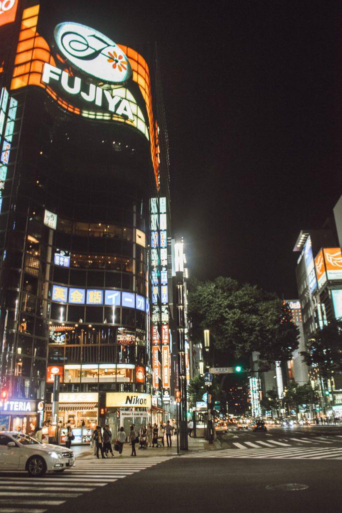 Shibuya crossing Tokyo 4 days itinerary