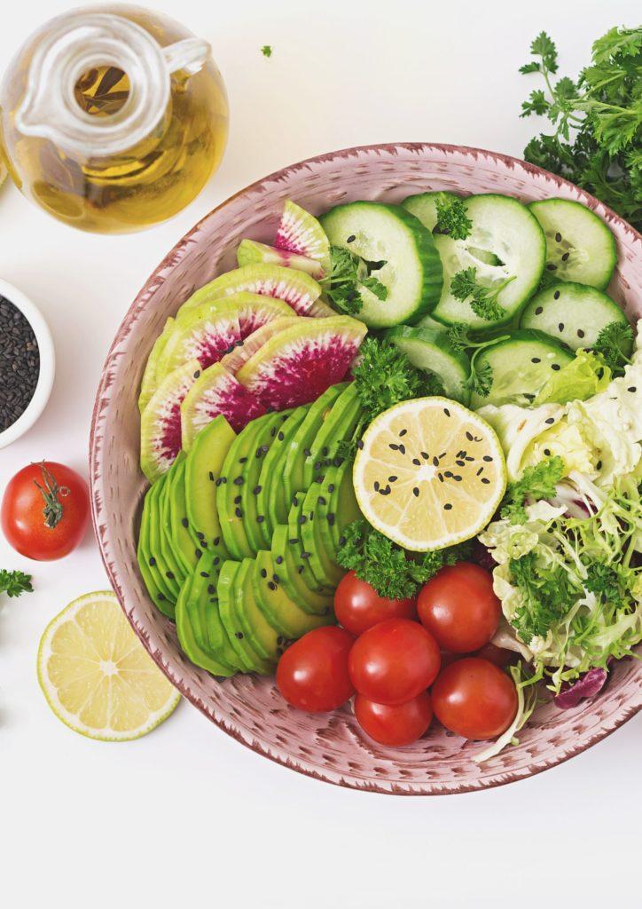 Salad in Vegan buenos aires