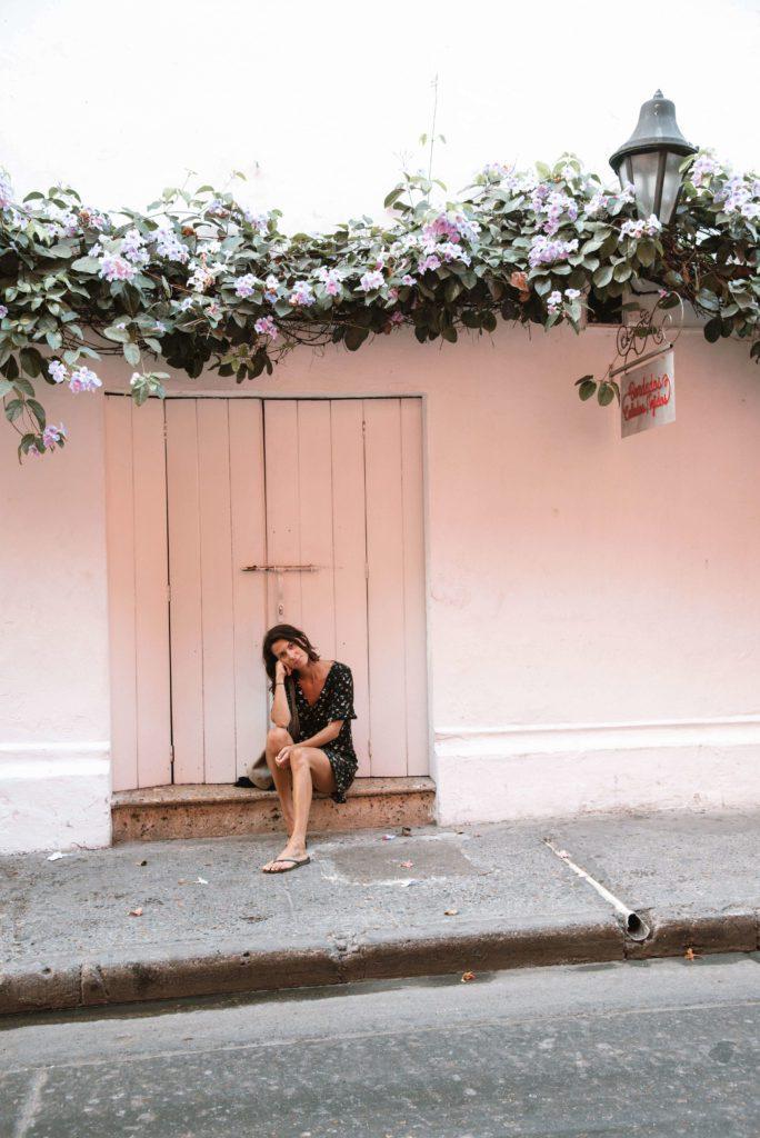 doorway in cartagena colombia