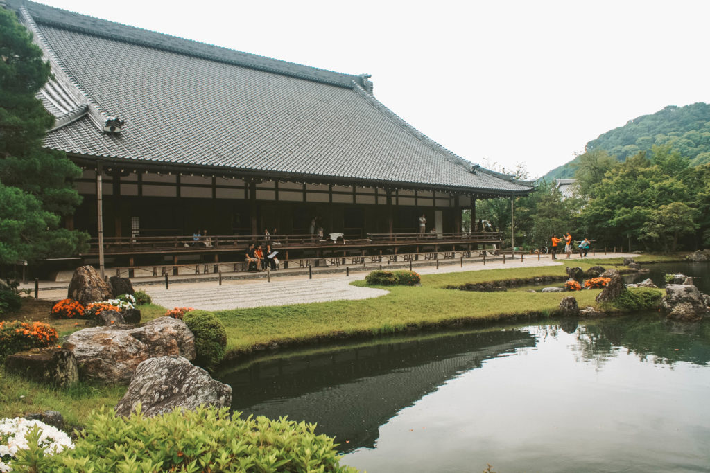 Tenryu-ji temple in Kyoto