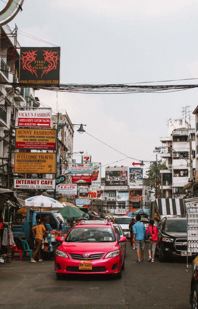 Khao San Road Bangkok Thailand