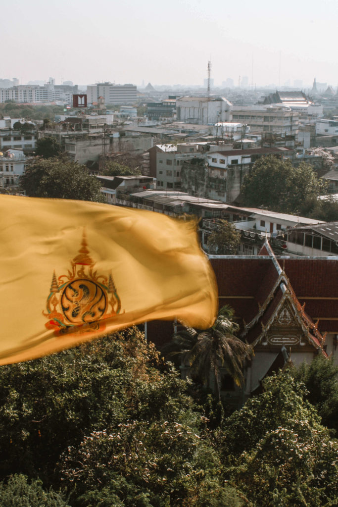 View from The Golden Mount Bangkok