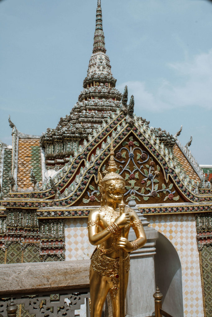 Temples in Grand Palace, Bangkok Thailand