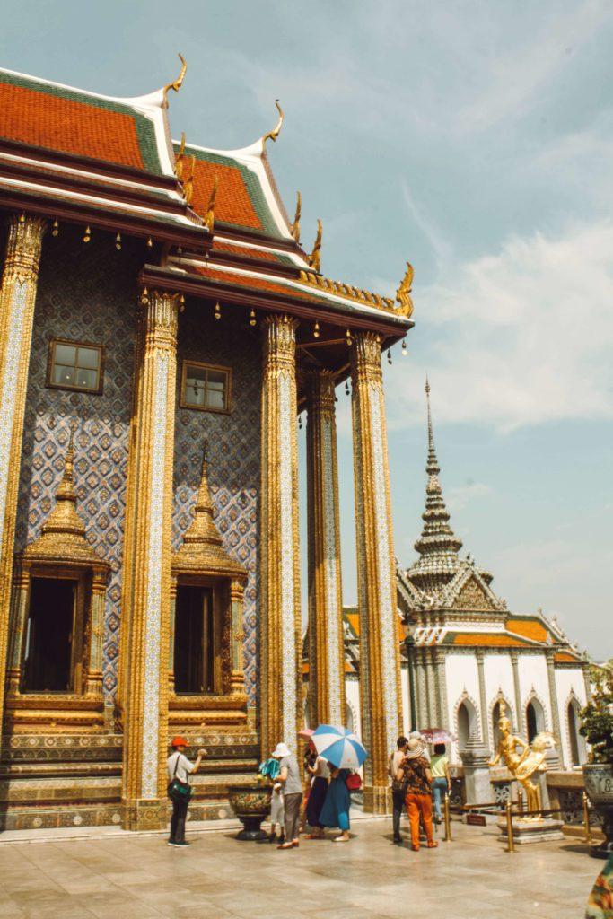 Temple in Grand Palace, Bangkok Thailand