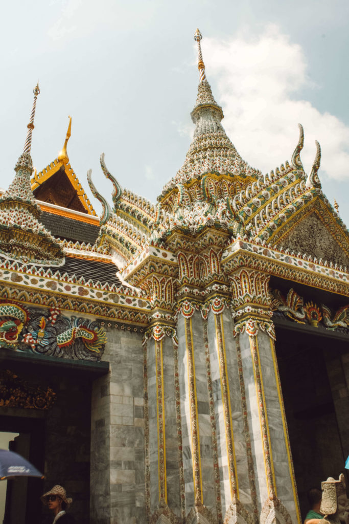 Temples in the Grand Palace, Bangkok Thailand