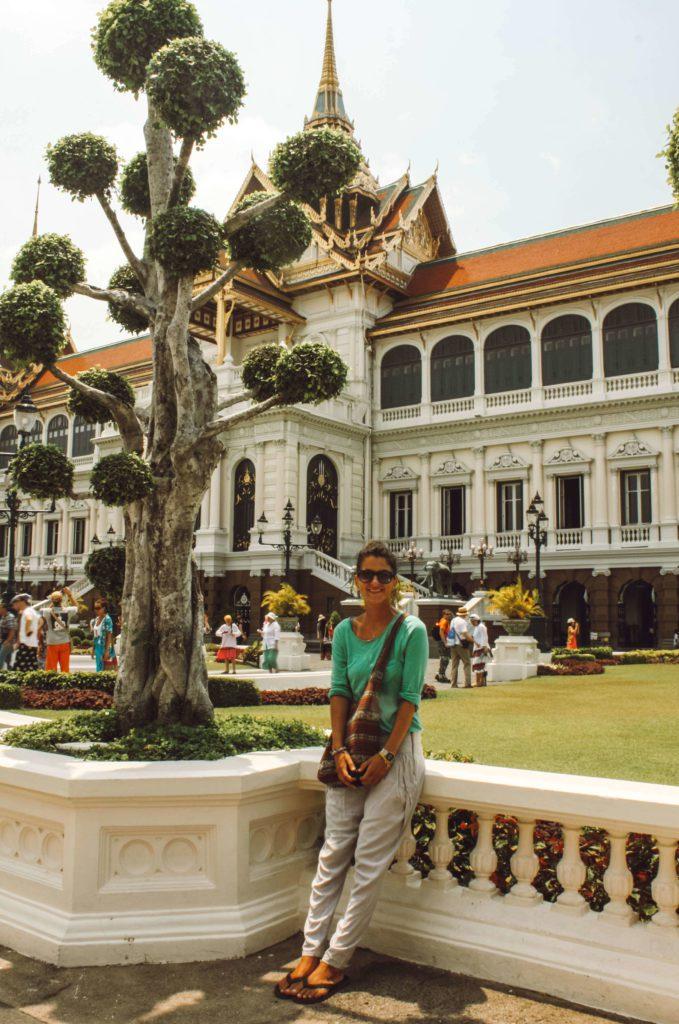 woman at Grand Palace, Bangkok Thailand