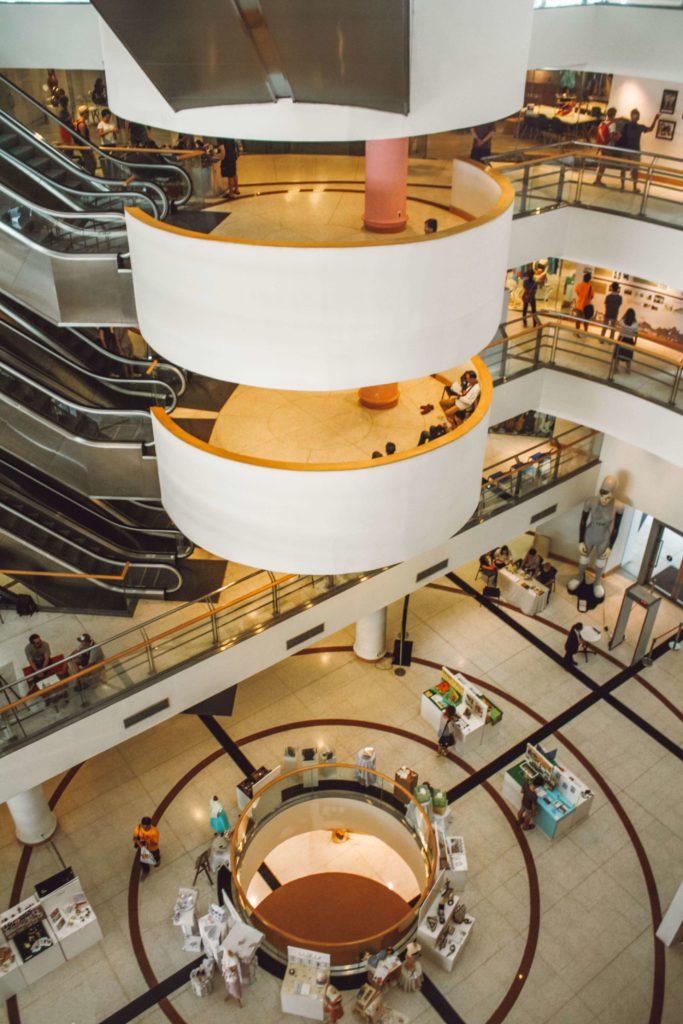 Interior of Bangkok Arts and Culture Centre