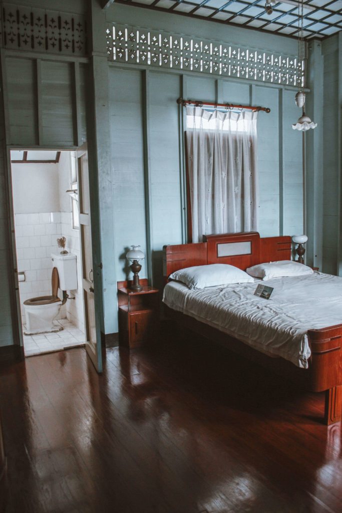 Traditional Thai bedroom