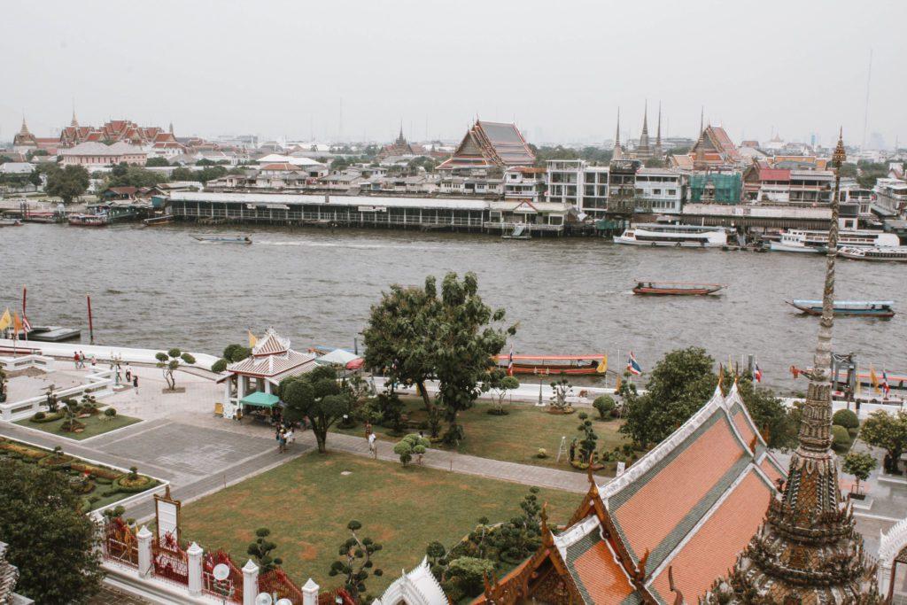 View from Wat Arun, Bangkok