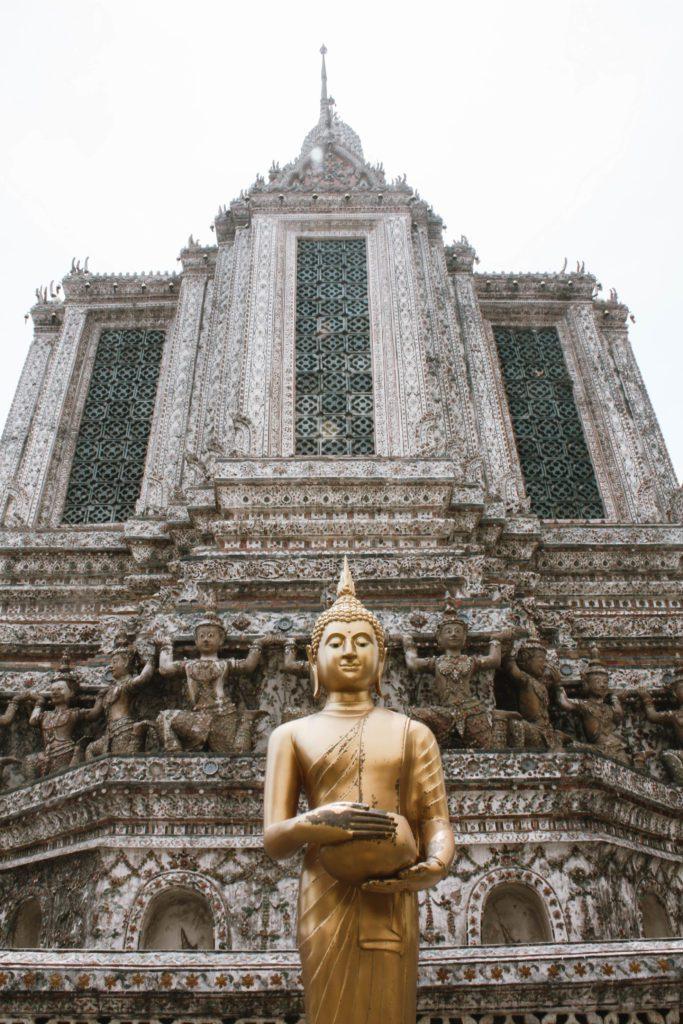Wat Arun Golden Buddha