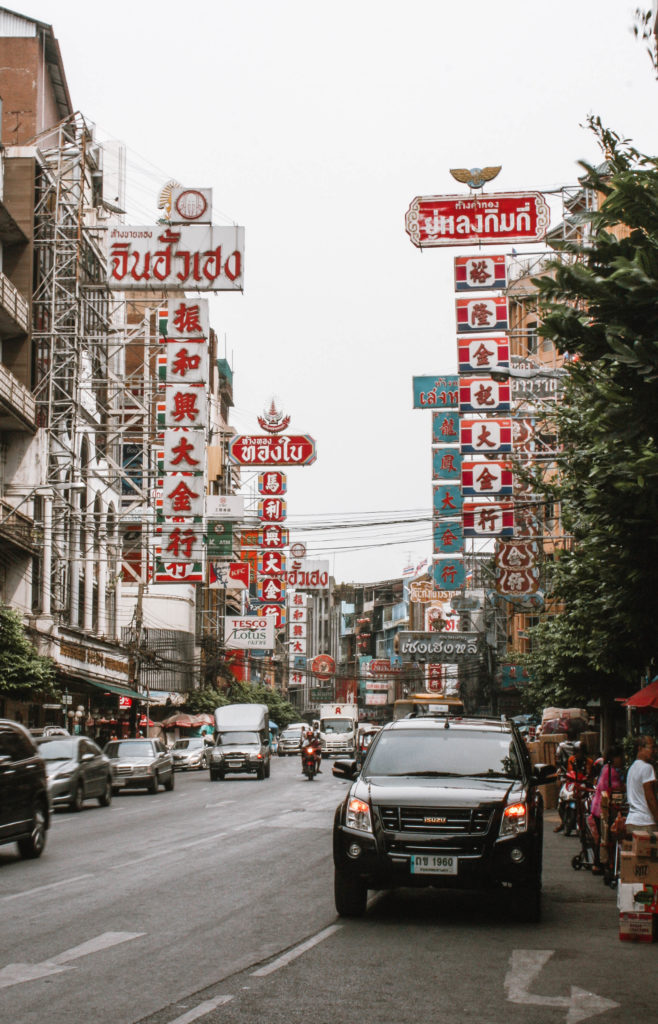 Chinatown Bangkok, busy street