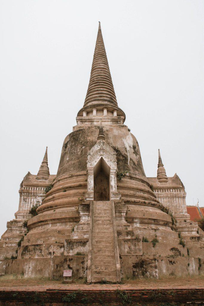 Temple spire in Ayutthaya